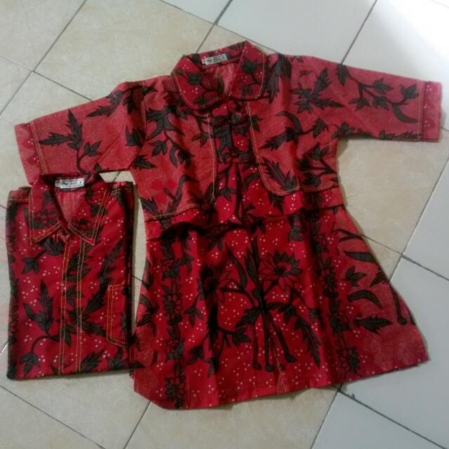Baju Batik Halus Couple