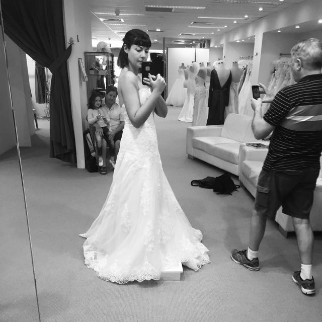 Barbara Calabro Wedding Dress