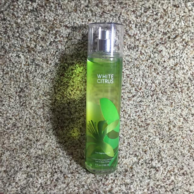 Bath & Body White Citrus Scent