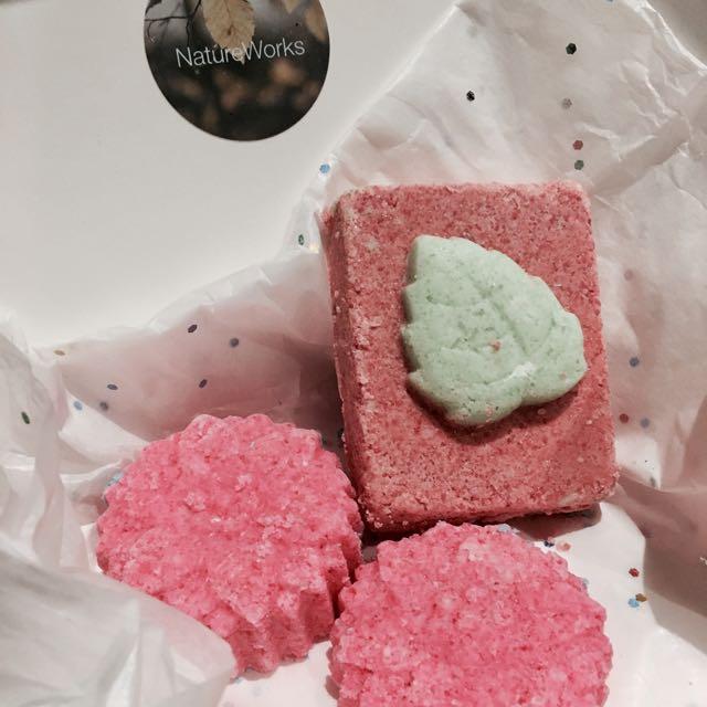Bath Bomb Set Of 3-Shea Butter Based