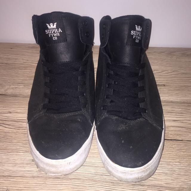 Black Supra High Tops