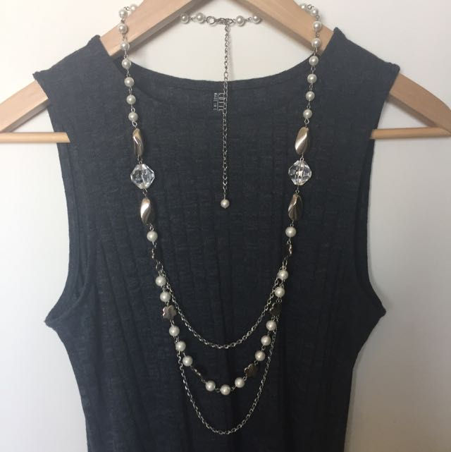 Brand New Pearl Drop Necklaces