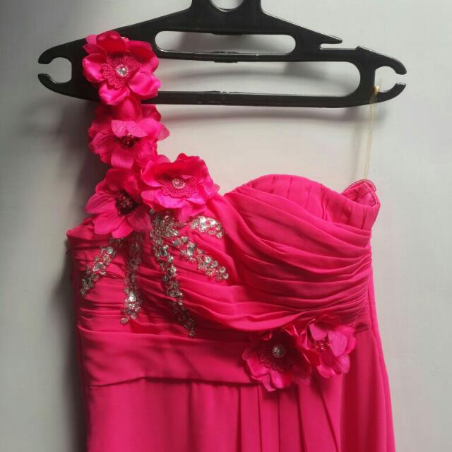 Bridesmaid Long Dress