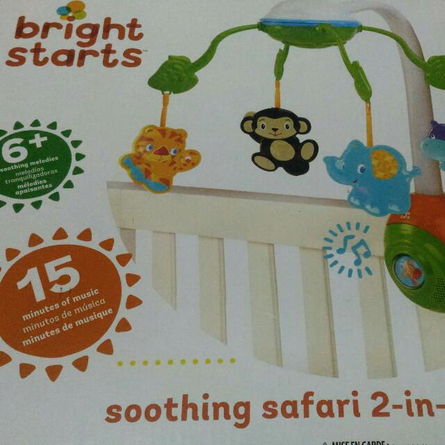 Bright Starts Safari 2in1 Mobile-repriced
