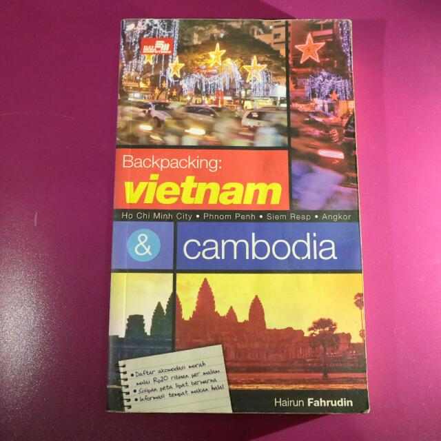 Buku - Backpacking: Vietnam & Cambodia