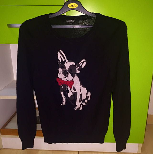 Bulldog Long Sleeve Shirt H&M Size S