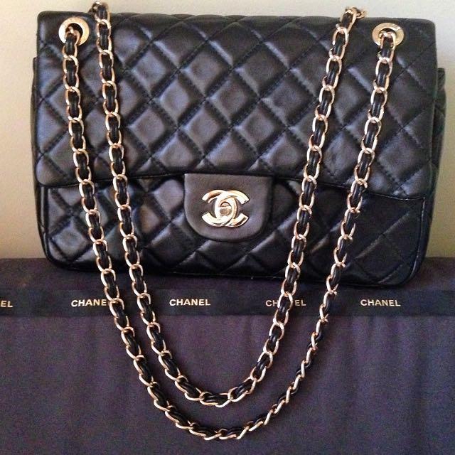 Chanel Double Flap Jumbo Bag