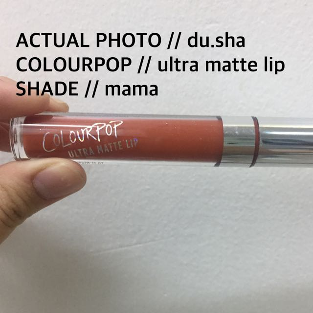 Colourpop // Mama: Ultra Matte Lip