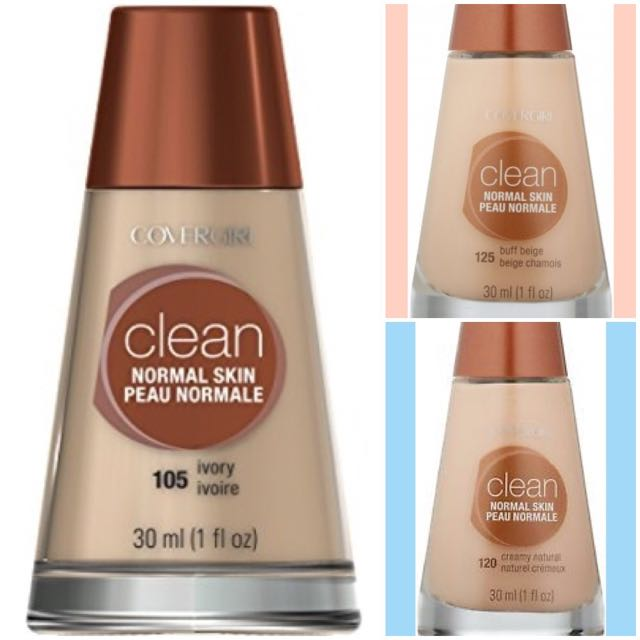 COVERGIRL Clean Makeup Foundation, Normal Skin; RRP - $25