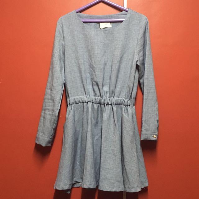 Denim Blue Dress