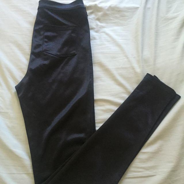 Dotti High-Waisted Disco Pants