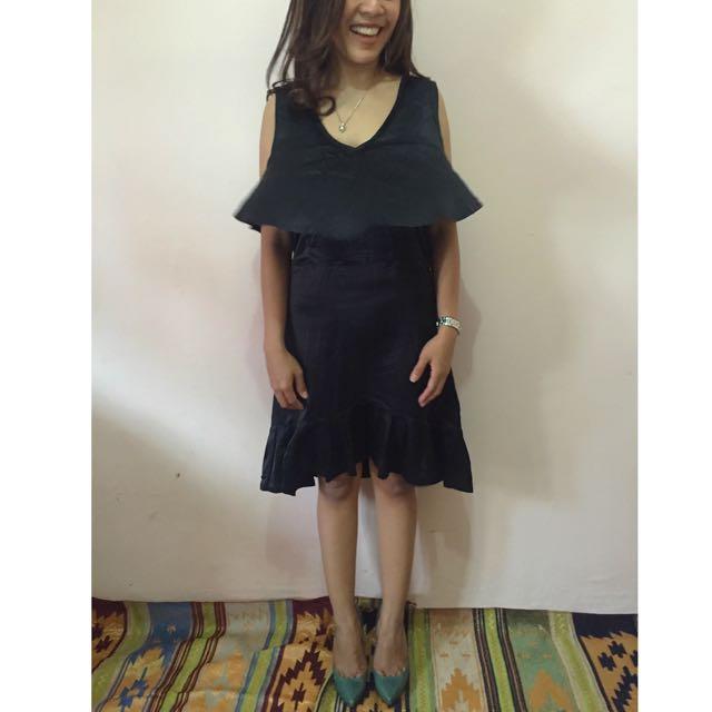 Dress, Black. Size S