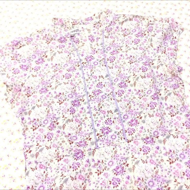 Dress Flower Pattern Brand Ann Design