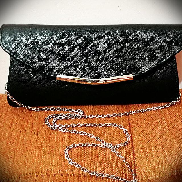 Repriced! Elegant Black Sling Bag