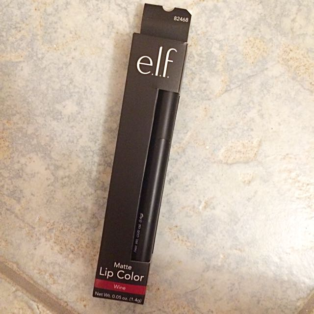 Elf Matte Lip Colour (wine)