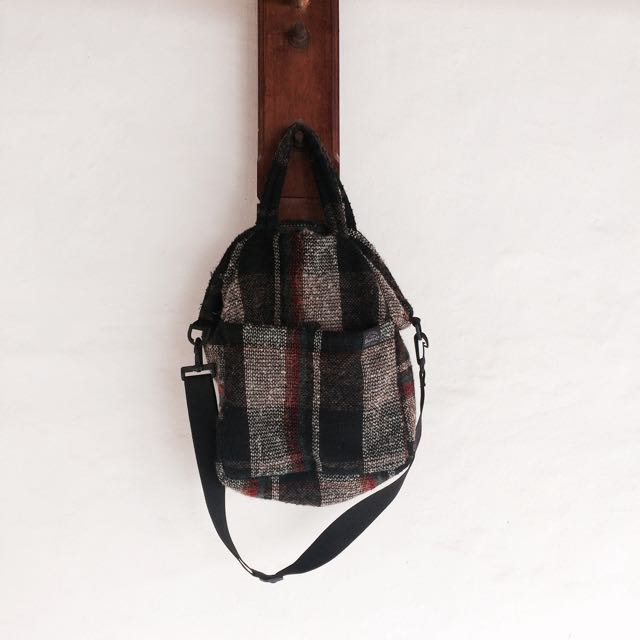 Flanel Bag from GoGirl Magazine