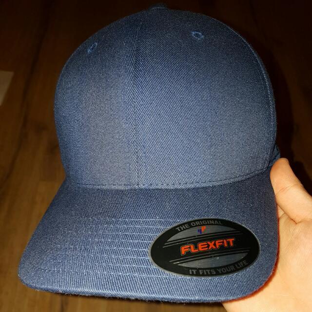 Flex fit Blue Cap Hat