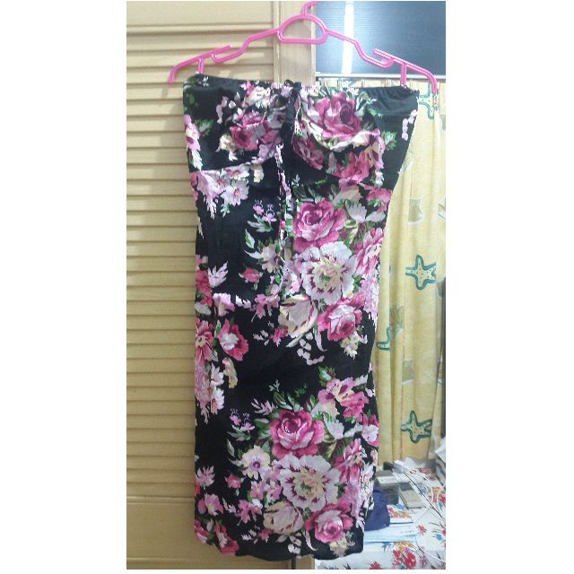 Flowery Tube/Halter Dress