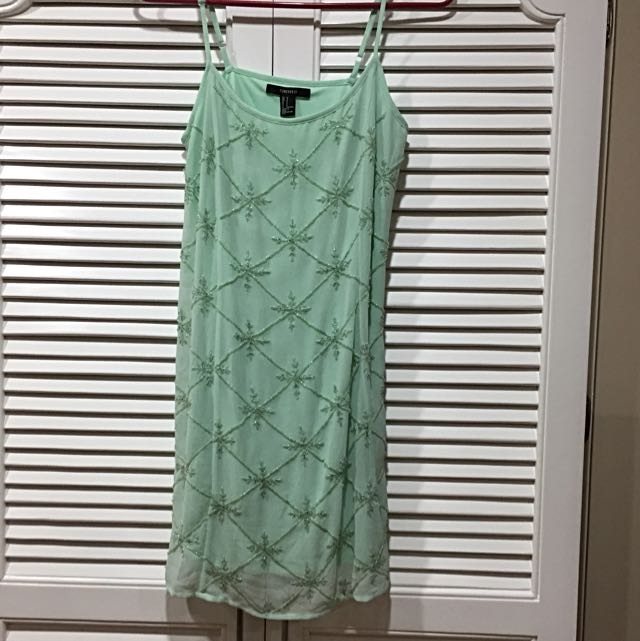 Forever 21 Mint Green Dress