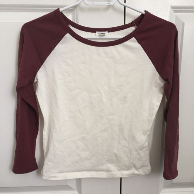 REDUCED Garage Baseball Tee