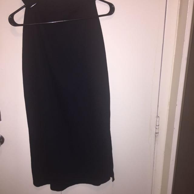 Garage Slitted Pencil Skirt