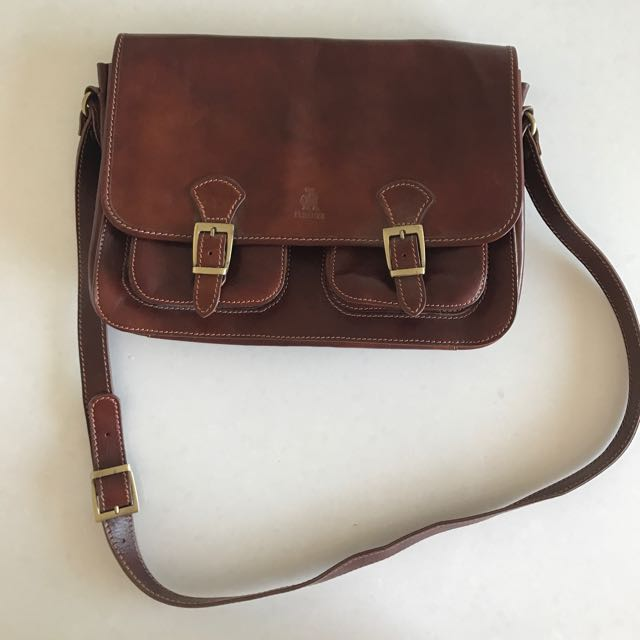 Genuine Italian Leather Briefcase Bag