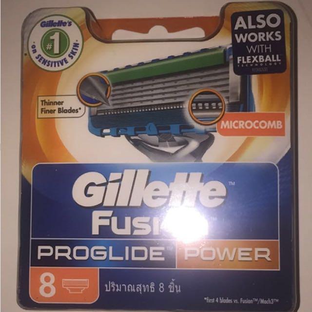 Gillette Fusion Proglide Ten Pack bulk buy