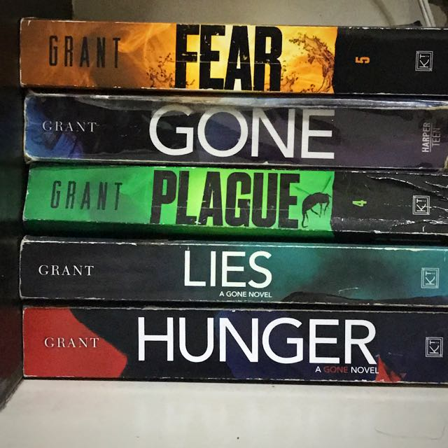 GONE SERIES Book 1-6 By MICHAEL GRANT