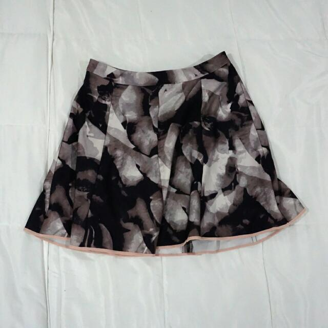 Graphic A-Line Skirt (Mossimo)