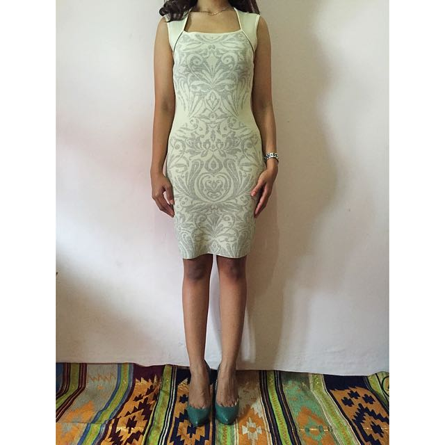 Guess By Marciano Dress, Champagne. Size S