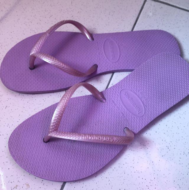 Havaianas Slim Purple Size 37-38