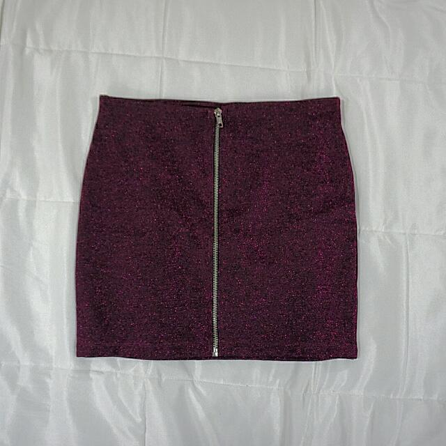 H&M Pink Bandage Mini Skirt
