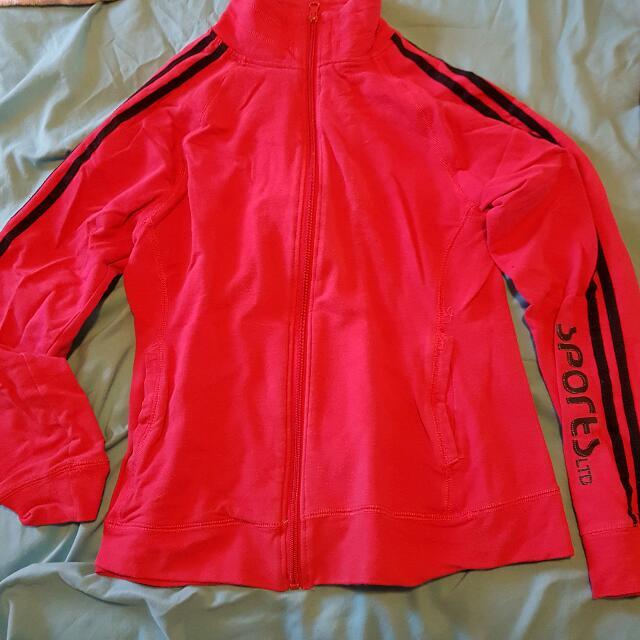 Hot Pink Light Sports Jumper