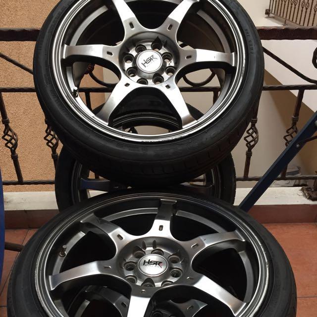 Hsr Wheels Rays G2 17 Inch