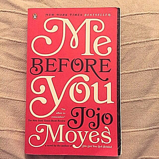 "Import: ""Me Before You"" (Jojo Moyes)"