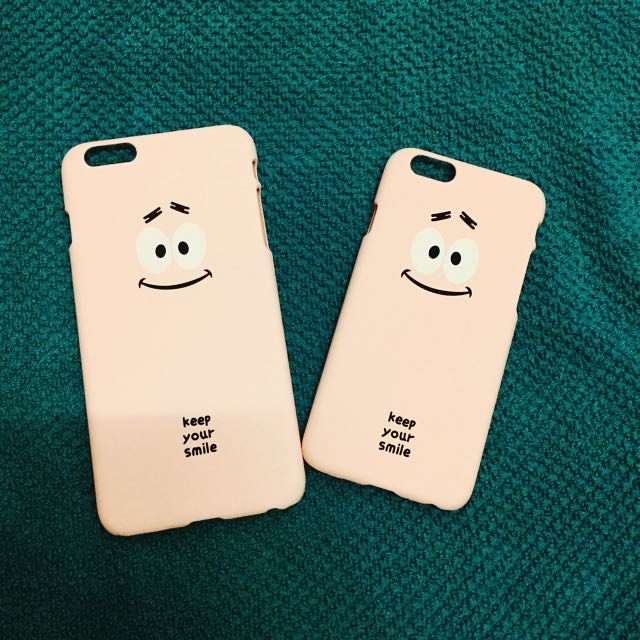 i6(4.7)粉紅笑臉手機殼