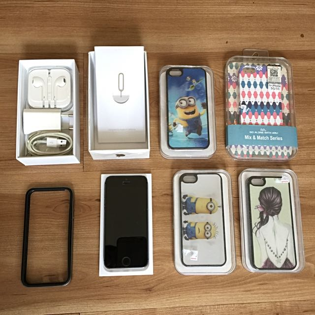 iphone 5s 16 gb | BONUS 4 casing + 1 bumper SPIGEN