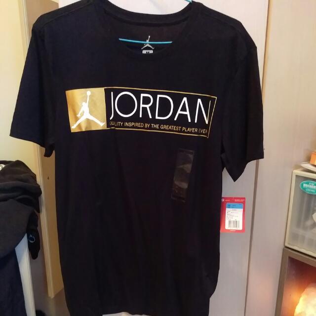 Jordon黑底金標