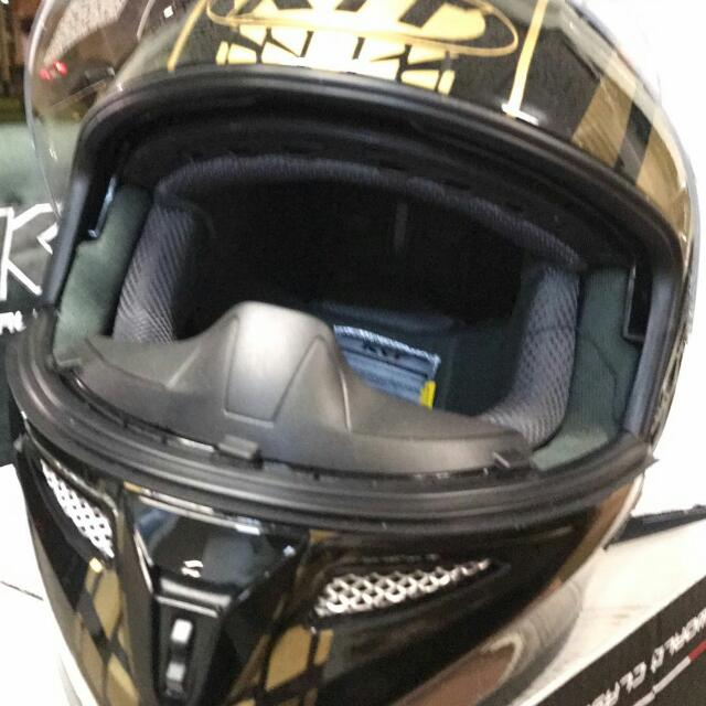 KYT FULL FACE M Cycle Helmet Car Accessories On Carousell