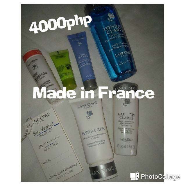 Lancome Travel Set (Made in France) REPRICED!