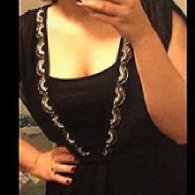 Long Beach Prom Dress Size S/M