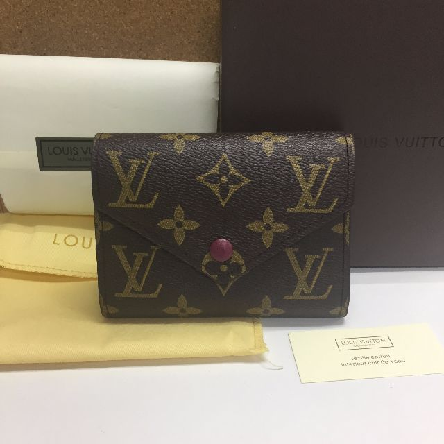 Louis Vuitton Victorine Wallet Fuchsia