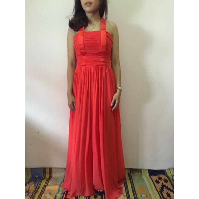 Mango Long Dress, Size S