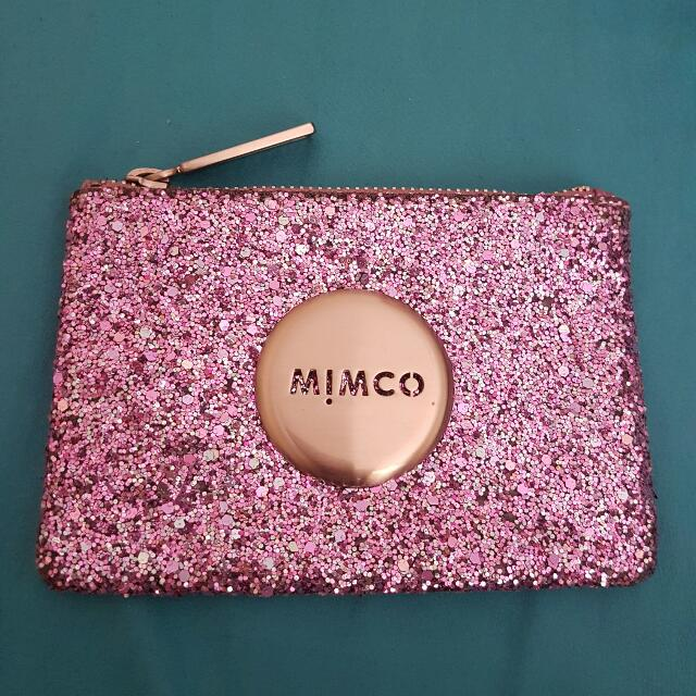 Mimco Small Amethyst Pouch
