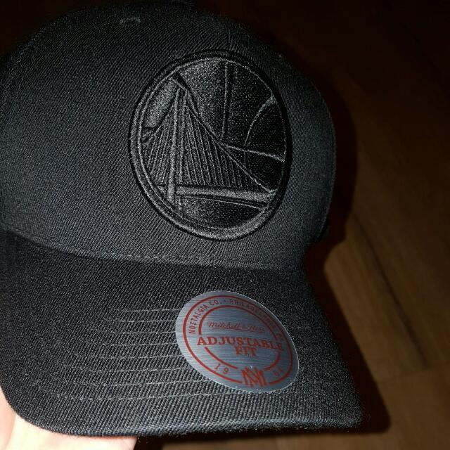 Mitchell And Ness Flex fit Golden State Warriors Hat