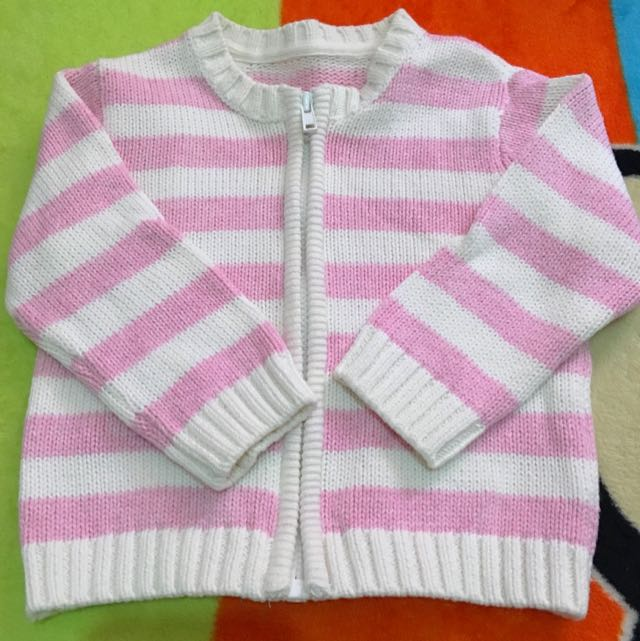 Mothercare 100% Cotton Knitted Jacket
