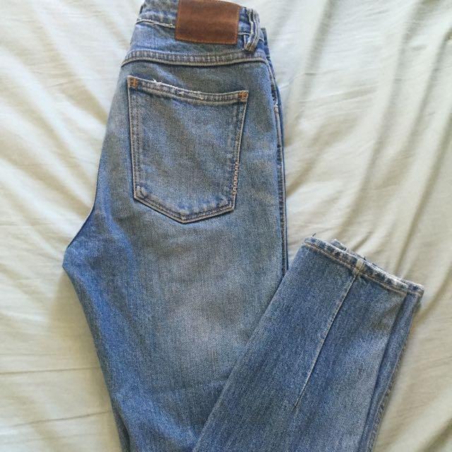Neuw High-Waisted Skinny Jeans