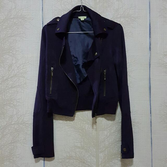 ON SALE !! NEW DEEP PURPLE JACKET