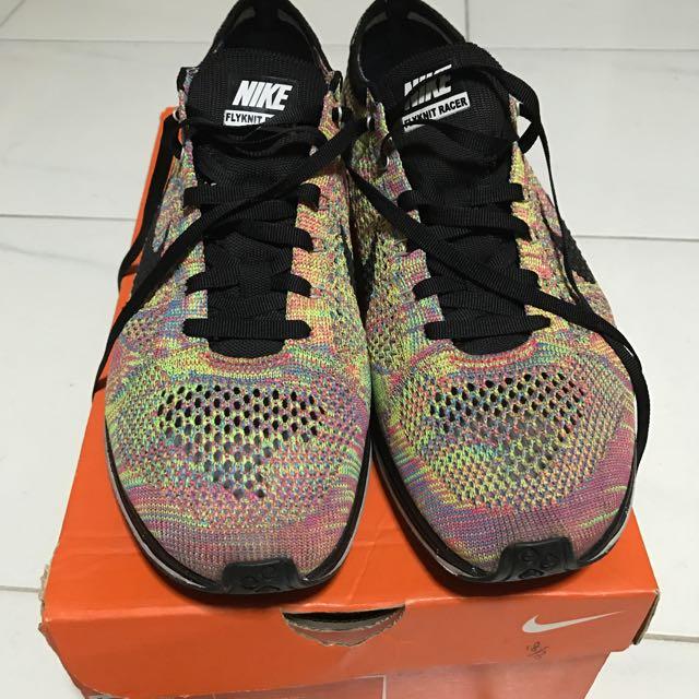 bad334ab74ae Nike Flyknit Racer Multicolor V1    SUPER RARE