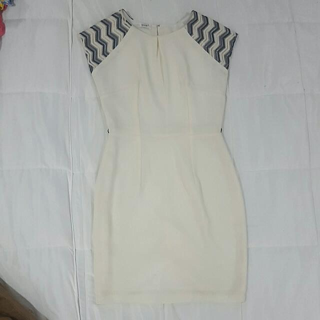 Off-White Dress